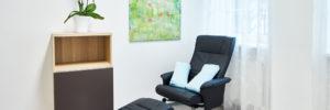 Therapieraum für Akupunktur